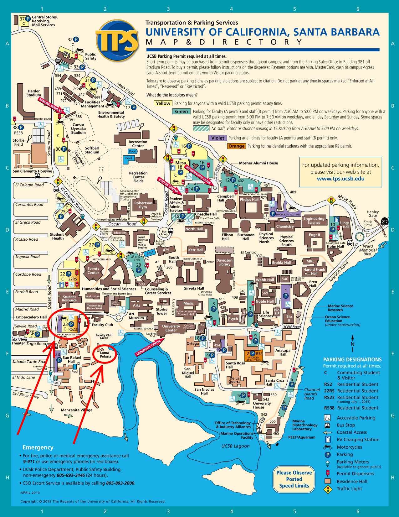 Ucsb Interactive Map SoCal Ucsb Interactive Map